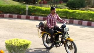 Air-O-Bike: Test Drive-II compressed air bike by Mr Arun Singh,SMS on Feb 24, 2016. at 3:30 PM