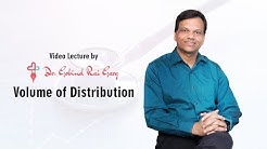 Dr. Gobind Rai Garg discusses the topic - Volume of Distribution