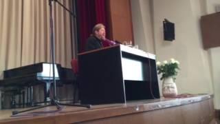 Выступление Еп. Тихона (Шевкунова) в Библиотеке иностранной литературы