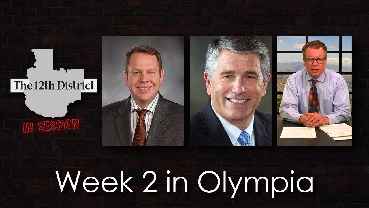 The 12th District - Week 2 in Olympia - January 29, 2019
