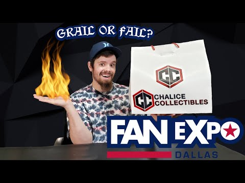 Chalice Collectibles Dallas Fan Expo Bag #1 $40 6 pops