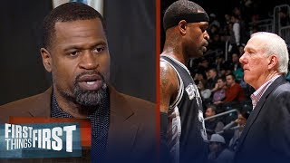 Stephen Jackson on what makes Gregg Popovich a great coach, Spurs future | NBA | FIRST THINGS FIRST