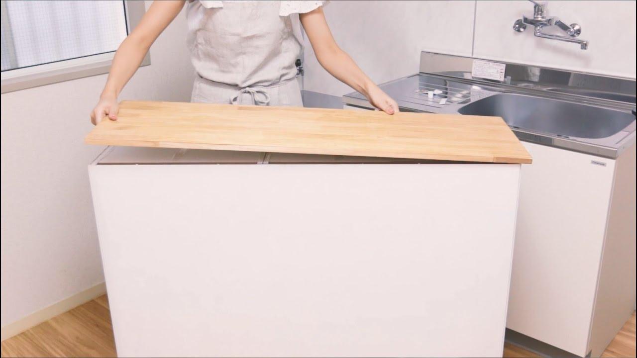 キッチン カウンター 手作り