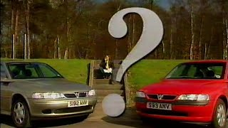 Old Top Gear 1999 - Vauxhall Vectra
