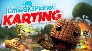 LittleBigPlanet Karting - PS3 Gameplay