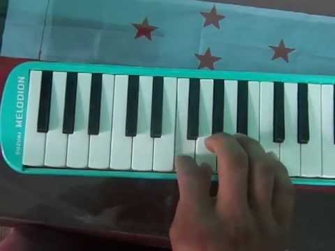 National anthem of nepal in keyboard piano melodion youtube for Piano house anthems