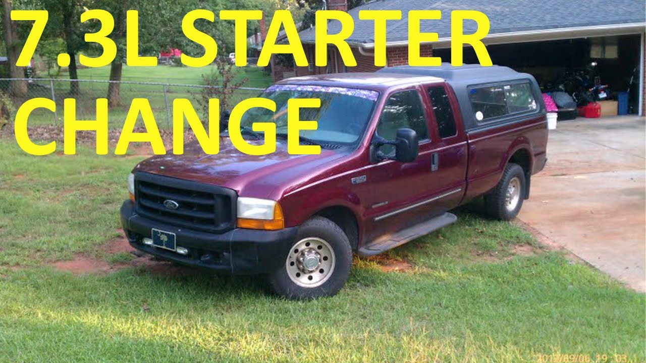 hight resolution of ford excursion starter diagram