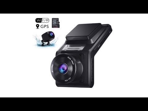 AKASO Dual Dash Cam Front And Rear 1080P Car Camera (2K Single Front) With 32 GB TF Card