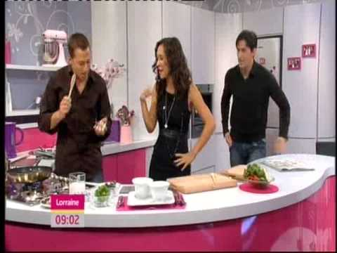 Richard Armitage Interview Spooks 9 and Cooking Segment
