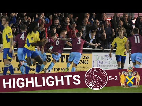 Extended Highlights: Taunton Town 5-2 St Albans City