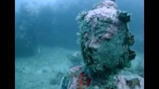Underwater Temple Garden Bali