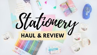 Stationery Haul + Review from AliExpress & Amazon (GIVEAWAY 2019)