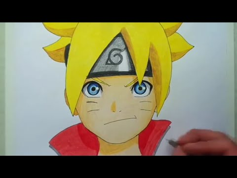 Comment dessiner boruto people cool youtube - Comment dessiner sasuke ...