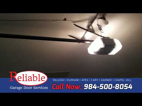 Reliable Garage Door Services In Raleigh Nc Youtube