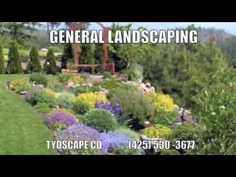 Best Landscaping Company Contractor Everett WA Tyoscapes