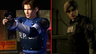 Resident Evil 2 (1998) vs Resident Evil 2 Remake (2019)