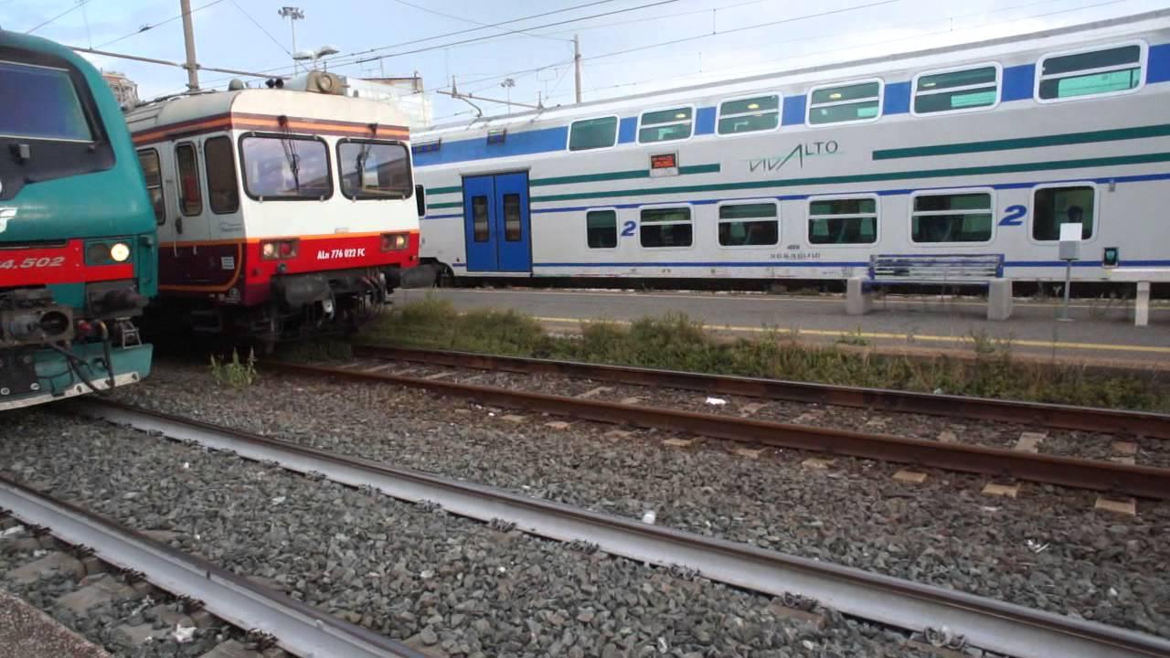 Rome To Civitavecchia Train Arrives At Station YouTube - Civitavecchia train station to cruise ship