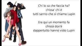 Sigla Lupin III (seconda serie) fisarmonica con testo