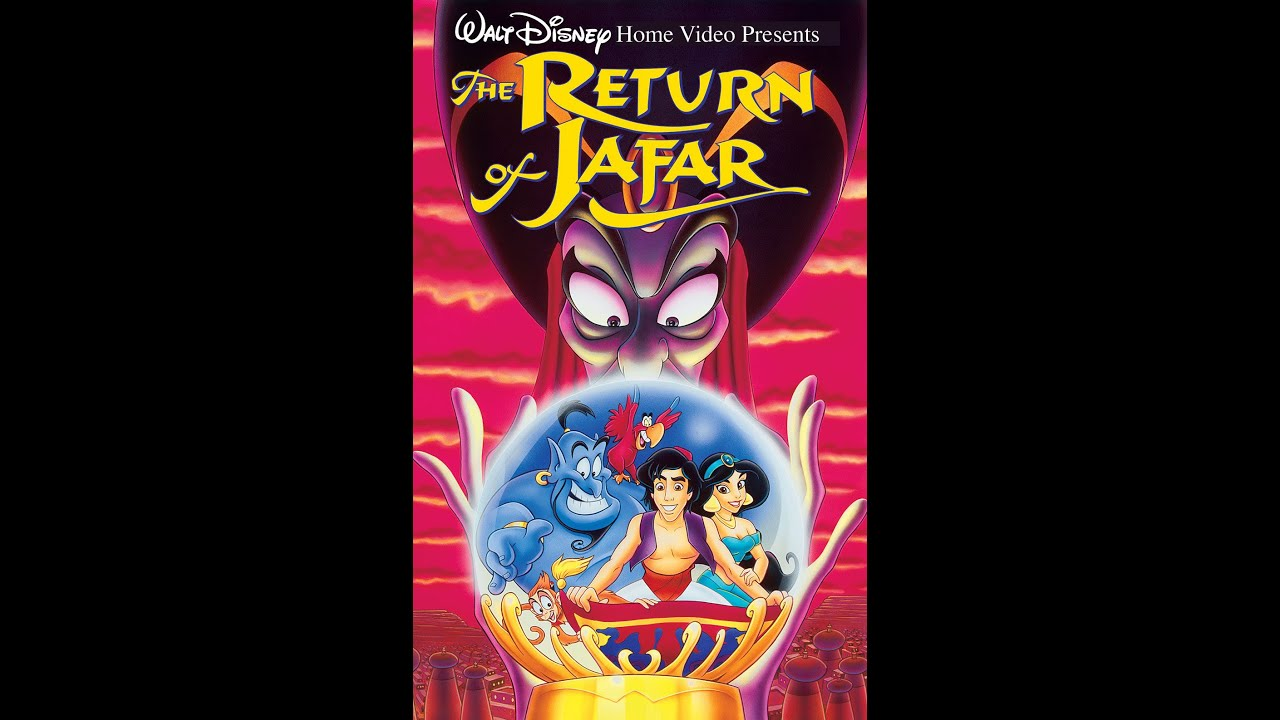 opening to the return of jafar 1994 vhs