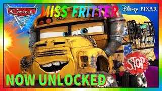 Cars 3 Driven to Win - gameplay - Miss Fritter