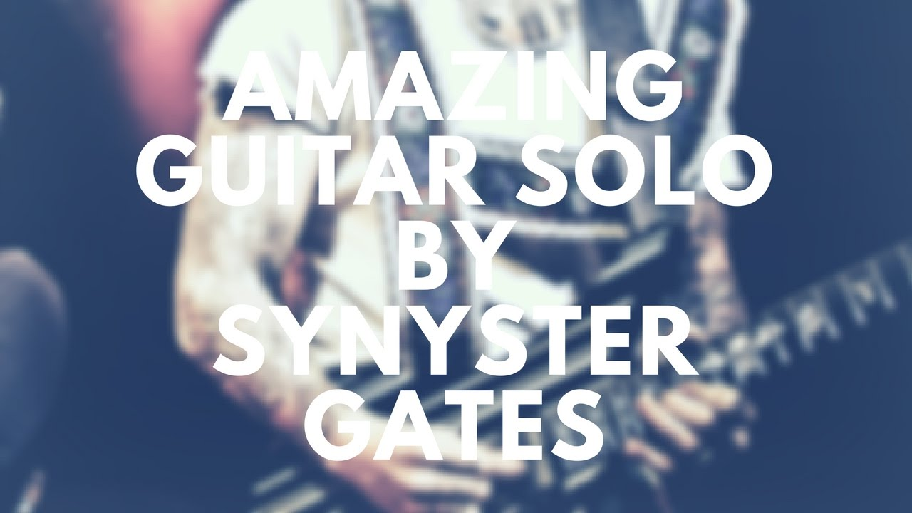 Amazing Guitar Solo - Synyster Gates - Live performance