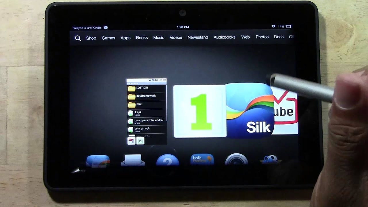 Kindle Fire HDX - How to Download the Official Instagram ...