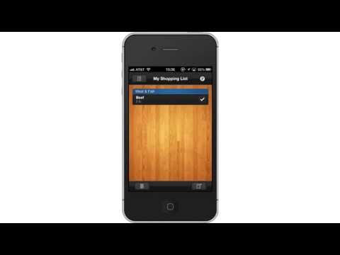 How To Create Shopping List In IPhone And IPad