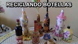 Cooking   MANUALIDADES RECICLAJE BOTELLAS DE VIDRIO