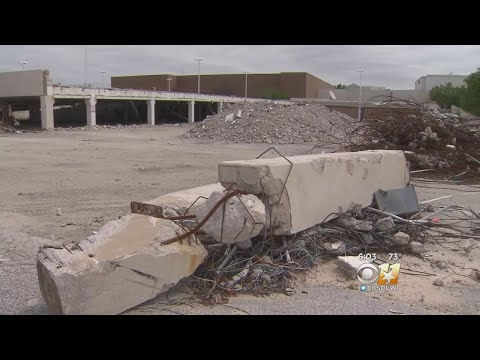 Progress Stopped At Old Valley View Mall Site