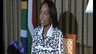 Interview With Outgoing President of  COP17:CMP7,  Ms Maite Nkoana Mashabane  and  Minister of  International Relations  and Cooperation of South Africa
