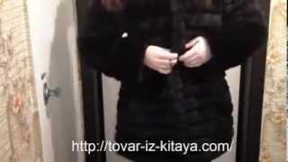 Шуба женская из Китая искусственная с AliExpress обзор посылки.
