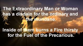 The Extraordinary Man or Woman