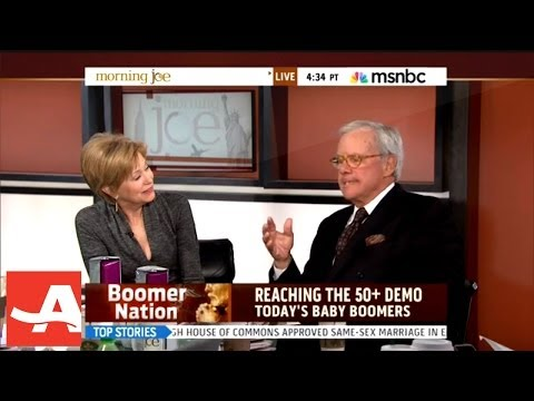 "AARP's Jane Pauley with Tom Brokaw on MSNBC's ""Morning Joe"" | AARP"