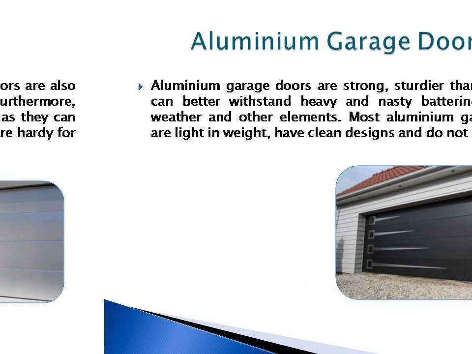 All us doors garage lift door types and garage door for Garage door materials