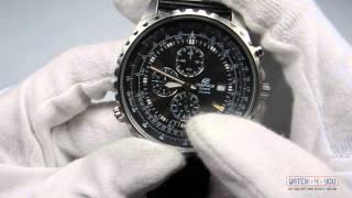 Обзор мужских часов Casio EF-527L-1AVEF(, 2014-07-29T13:42:22.000Z)