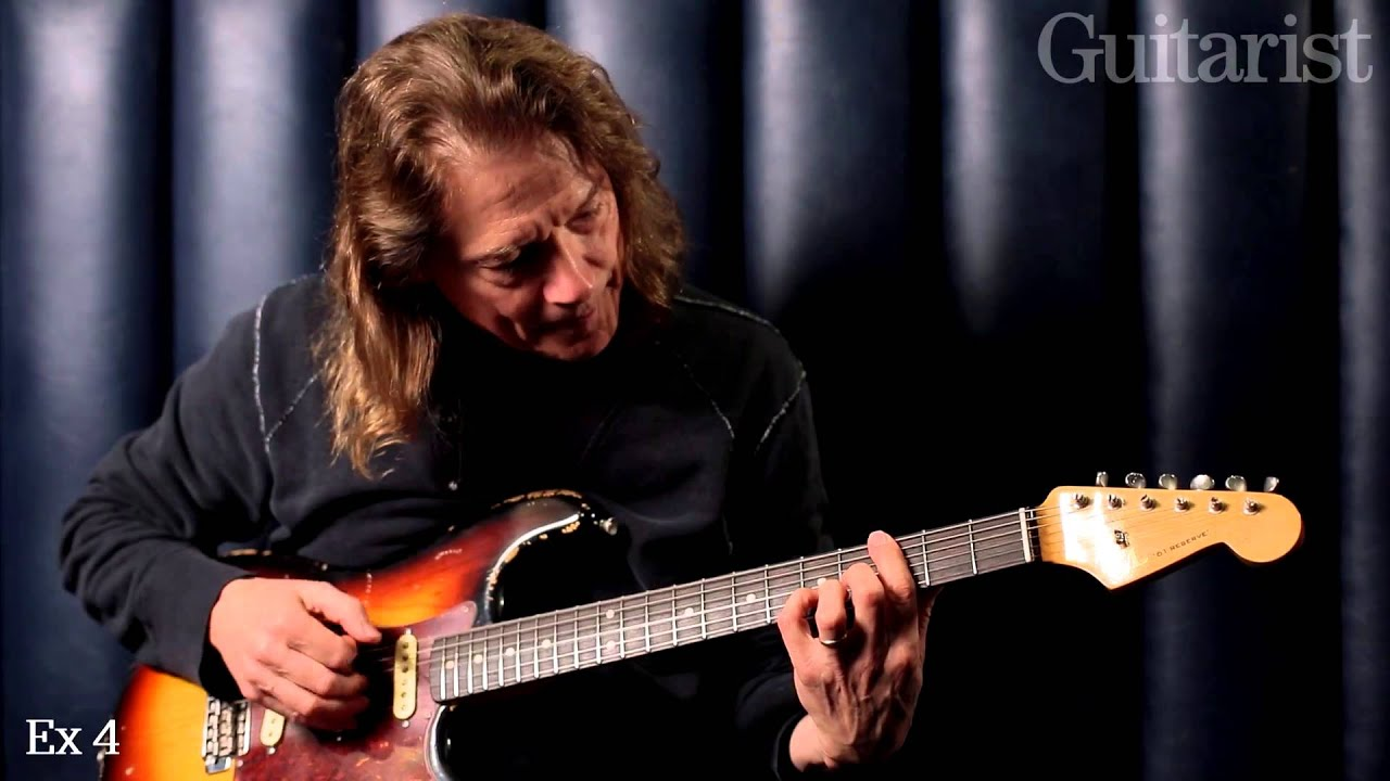 Robben Ford Blues Masterclass - YouTube
