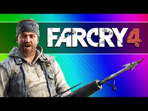 Far Cry 4 Funny Moments 2  Noob Hunters Taking Over the Fortress