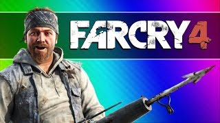 far Cry 4 Funny Moments #2 - Noob Hunters (Taking Over the Fortress)