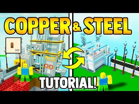 how to get INFINITE COPPER & STEEL!! | Roblox Islannds/Skyblock