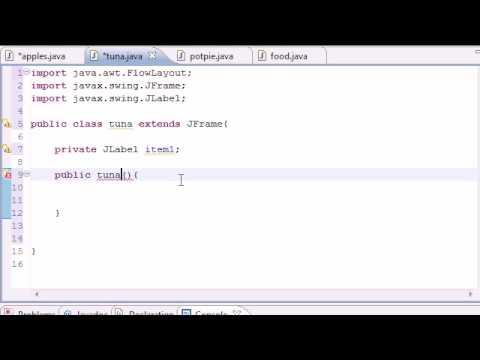 Java Programming Tutorial - 51 - GUI with JFrame