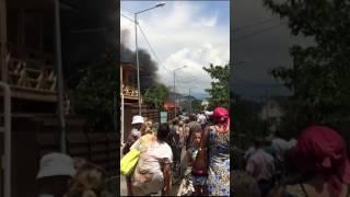 Пожар в Имеретинской низменности