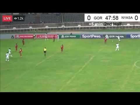 Gor Mahia(Kenya)1- 0 Nyasa Big Bullets(Malawi) CAF Champions league 2019