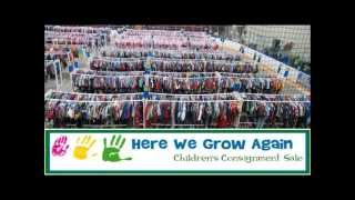 Here We Grow Again Children's Consignment Sale Eau Claire is Coming