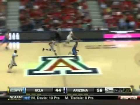 2010/2011 Arizona Basketball vs UCLA