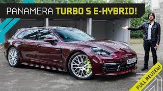 Meet Ron: the 680BHP Hybrid Porsche!! Mr AMG on the New Panamera
