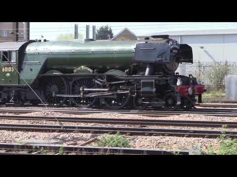 Great Britain 11 - Flying Scotsman at Peterborough (DBLM Steam)