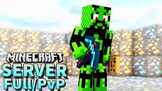 Divulgação de Server Minecraft 1.8 Clan, Full/PvP e Plotme - Ep.339