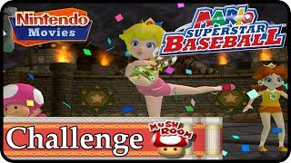 Mario Superstar Baseball - Challenge (Mushroom) Complete