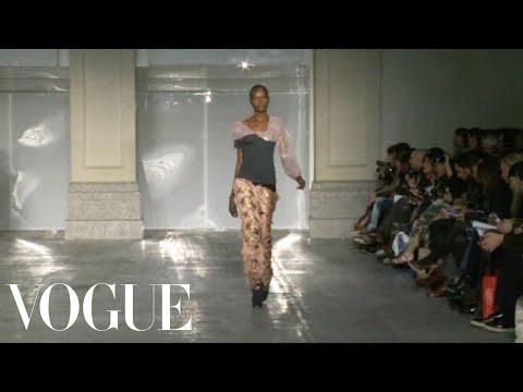 Michael Van Der Ham Ready To Wear Fall 2011 Vogue Fashion Week Runway Show