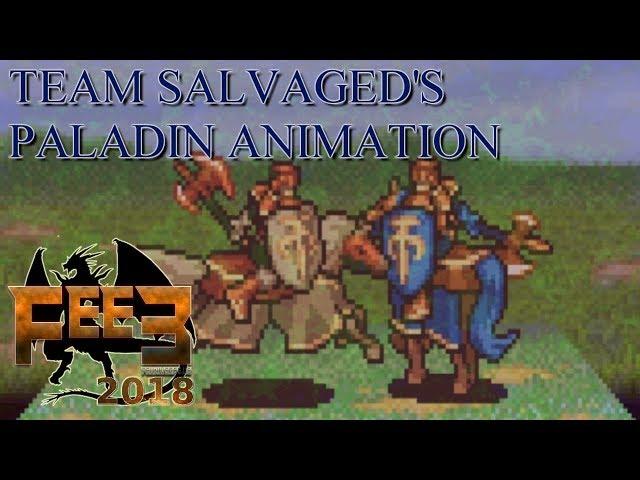 Fire Emblem E3 2018 - Team SALVAGEDs Paladin Animation